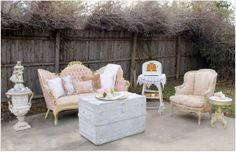 Lounge Areas - My Dust ~ Inventory - RENT MY DUST Vintage Rentals