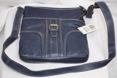 Style-Co-Navy-Blue-Cross-Body-Simulated-Leather-Jasmine-IV-Handbag-NWT