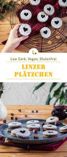 Fruchtig Weihnachtlich! Low Carb Linzer Plätzchen Rezept aus dem Lizza Teig, Marmelade und Xylit Puderzucker. Glutenfrei und vegan, so nascht man mit gutem Gewissen in die Weihnachtstage. Ihr wollt mehr Rezepte mit dem Lizza Teig oder unsere Lizza Mehle? Dann besucht doch unsere Rezepteseite und lasst euch inspirieren. https://lizza.de/pages/rezepte  #lowcarb #glutenfree #glutenfrei #vegan #weihnachten #lizzateig