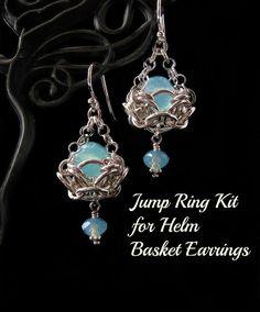 Jump ring enige chainmaille kits voor Helm mand oorbellen.  Deze kit bevat genoeg sprong ringen gedurende een paar oorbellen. Geen instructies, bevindingen, of kralen zijn opgenomen.  Alle mijn sprong ringen zijn zag gesneden en vervolgens tuimelen gepolijst voor een briljante glans.  Ga hier mijn winkel om te zien meer van mijn sieraden en tutorials: http://www.etsy.com/shop/wolfstonejewelry