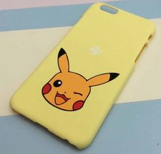 iPhone 6/6s Hard Mobile Phone Case - Pikachu #phonecase #mobilephone #iphone6…