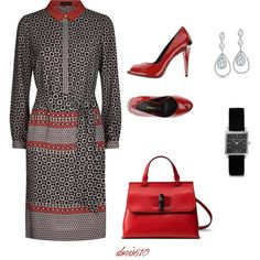 A fashion look from September 2015 by doris610 featuring Jaeger, Pierre Balmain, Gucci, Isabel Marant and Bling Jewelry