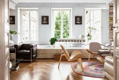 Una sala de estar diferente,.... http://maryaninteriordesign.blogspot.com.es/2014/04/una-sala-de-estar-diferente.html