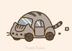 pusheen car