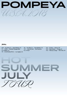 "i-i-ira: ""Poster series for Pompeya band "" Game Design, Web Design, Layout Design, Graphic Design Posters, Graphic Design Inspiration, Layout Inspiration, Text Layout, Poster Layout, Graphic Portfolio"