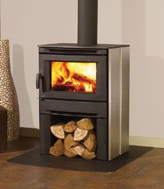 Alterra CS1200 Wood Stove #thefirebird #santafe #staywarm