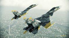 Yellow Squadron Su-37 Flanker-Fs