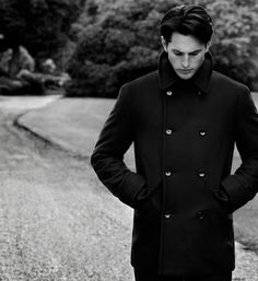 A serious coat for a serious man