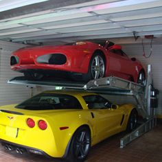 Automatic parking lifts on pinterest steel vehicles and for Residential garage car lift