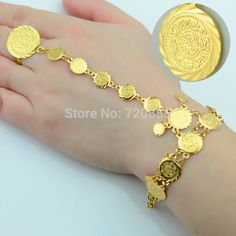 Anniyo Wholesale Coin Bracelet for Women,Arab Chain Middle Eastern Gift,Gold Color Coins Jewelry Middle Eastern Wedding Gold Jewelry For Sale, Cheap Jewelry, Islam, Buy Gold And Silver, Coin Bracelet, Charm Bracelets, Coin Jewelry, Gold Jewellery Design, Schmuck Design