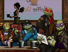 Tmnt 2012, Ninja Turtles Art, Teenage Mutant Ninja Turtles, Tmnt Wallpaper, Tmnt Swag, Tmnt Girls, Turtle Love, Wattpad, Character Design