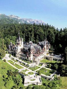 "my-romania: "" ""Peleș Castle, Sinaia, Prahova county "" """