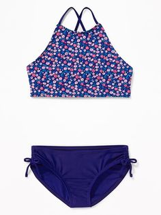 ca7dacb1d3b72 Help her feel great in and out of the water with Old Navy girls' swimwear.  Shop swimwear for girls.