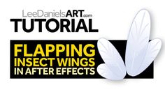 Please SUBSCRIBE to my channel: http://goo.gl/E6EOyb  Tutorial by Lee Daniels | http://www.LeeDanielsART.com    Requirements for this tutorial:  AfterEffects (Basic Understanding)    This short tutorial explains couple of very simple examples of automatically looped flapping wings using 'Wiggle' and 'Loop' expressions in After Effects.    These tutorials are intended as a general overview of features.  So if you have any questions, please feel free to ask in the comments section below and…