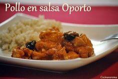 Pollo en salsa de Oporto - Club Thermomix