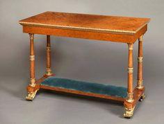 Rare Royal Table by Morel & Seddon for Windsor Castle, Commanded by George IV image 2: