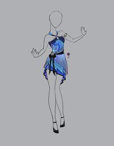 .::Outfit Adopt 14(OPEN)::. by Scarlett-Knight.deviantart.com on @deviantART