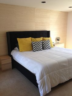 Black White And Yellow Bedroom found it at wayfair - villa bedding collection in tan and brown