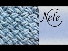 Muster stricken - Flechtmuster - basket weave - criss cross stitch - DIY by NeleC. - YouTube