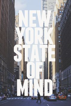 New York Staat des Verstandes NYC Amerika Plakat. New York Trip, New York City, New York Quotes, Voyage Usa, A New York Minute, Empire State Of Mind, I Love Nyc, City That Never Sleeps, Dream City