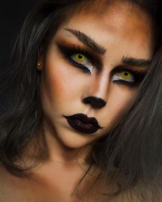 Halloween Makeup halloween makeup with beard Cat Halloween Makeup, Halloween Looks, Halloween Outfits, Halloween Season, Easy Halloween, Halloween Costumes, Beard Makeup, Makeup Fx, Makeup Ideas