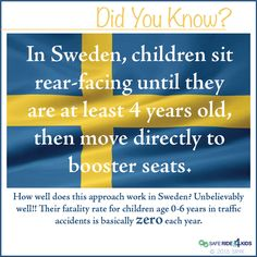 kids ride safer in sweden want to know why car seat safetysweden