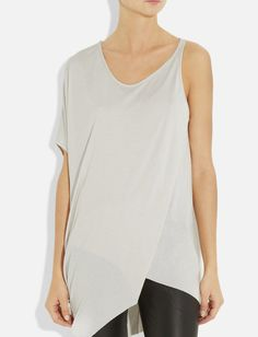 Asymmetric jersey top. Tunic tshirt. Late by CTbyCoutureTime, $70.00