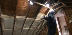 This Old House general contractor Tom Silva shows how to super-insulate an attic
