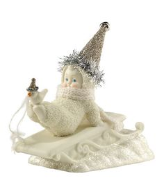 Look what I found on #zulily! Fly With Me Figurine by Snowbabies #zulilyfinds