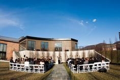 Purple, modern and rustic New York wedding - see more at http://fabyoubliss.com  www.roundhousebeacon.com