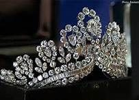 Tiara owned by Eva Peron, purported to be a gift from the Dutch Royal Family.