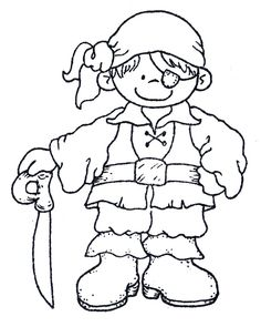 Is your tot adventurous little soul, who loves dreaming about pirates? Then, try our pirate coloring pages?