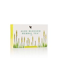 Aloe Blossom Herbal Tea®  Aloe Blossom Herbal Tea? is a natural blend of leaves, herbs and spices, specially prepared to provide an outstanding flavor and a rich aroma.