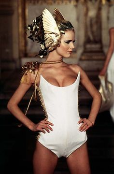 1997 - McQueen 4 Givenchy Couture Show - Eva Herzigova