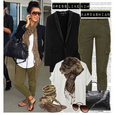 Great, casual combination. Looks comfortable for travel.