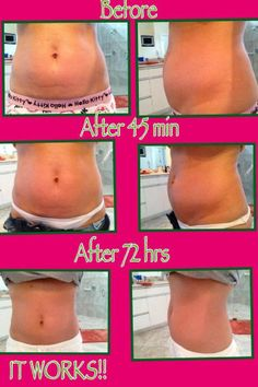 Get your 4 pack of skinny wraps here: www.skinnysquad.myitworks.com