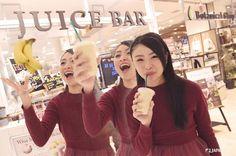 There is a supermarket where fresh smoothies Juice Bar@ Daiei Kobe Sannomiya 1F  #daiei #japankuru #japan #cooljapan #kobe #kansai #shopping #supermarket