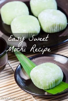 Check out this Easy Sweet Mochi Recipe! The recipe below will bring you step by step into preparing your very own Mochi dough!