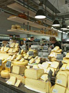 English Cheese, Dutch Cheese, Cheese Store, Supermarket Design, Retail Solutions, Interior Architecture, Interior Design, Rotterdam, Art Of Seduction