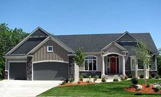 Plan W73279HS: Northwest, Sloping Lot, Photo Gallery, Craftsman House Plans & Home Designs