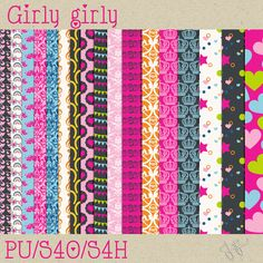 FREE Girly girly Paperpack2 by Jejjas design