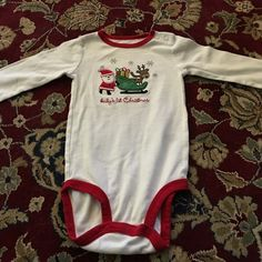 Baby's First Christmas Onesie 6 Month Baby's First Christmas Onesie by Carter's. Carter's Other