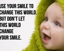 #Change the #World One #Smile at a Time.