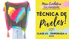 TÉCNICA DE PÍXELES - Crochet En Tiempo Real Con mamaQuilla!