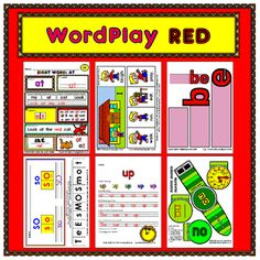 This MEGA-BUNDLE has 16 sight words from the RED LEVEL of the 100 Rainbow Words list! Each sight word has six fun reproducible activities! This title includes nearly 100 black and white student reproducibles PLUS the full color teacher examples for a total of almost 200 pages!