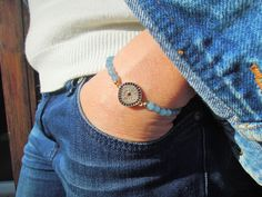 Turkish evil eye bracelet, Tennis Bracelet , aqua blue gem stone bracelet , Protection Bracelet, Good Luck bracelet , Rhinestone Bracelet by ebrukjewelry on Etsy