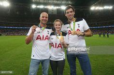 LONDON, ENGLAND - SEPTEMBER 14: Olympians Richard Hounslow,... #hounslow: LONDON, ENGLAND - SEPTEMBER 14: Olympians Richard… #hounslow