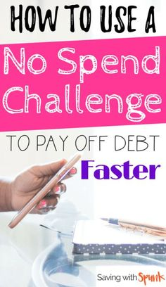 How to do a no spend challenge that won't have you binging after the week is done! Awesome tips for a no spend month or no spend weekend! No Spend Challenge, Savings Challenge, Money Saving Challenge, Money Saving Tips, Money Tips, Managing Money, Frugal Living Tips, Frugal Tips, Frugal Family