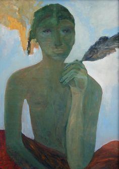 Star Gossage, Oi Boy Oil on board 1200 x Private Collection Nz Art, Art Fair, Magazine Design, Pottery Art, Art Gallery, Illustration Art, Drawings, Artwork, Paintings