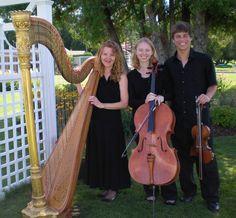 Elizabeth Borsodi, Harpist  Photo Credit: Music of the Lake